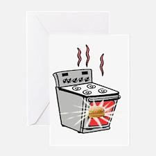 Bun in oven2 Greeting Card