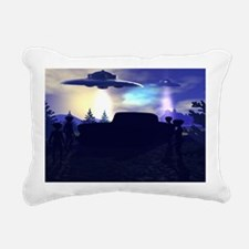 ROADBLOCK Rectangular Canvas Pillow