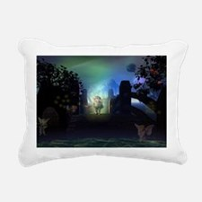 Somewhere Only We Know Rectangular Canvas Pillow