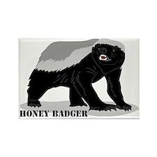 honeybadger_design2 Rectangle Magnet