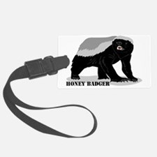 honeybadger_design2 Luggage Tag