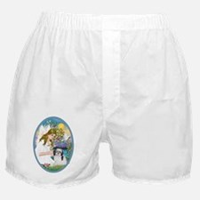 Angel Love and Shih Tzu (A) Boxer Shorts