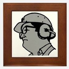 Use Hearing Protection Framed Tile