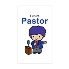 Future Pastor for Boys Vinyl Decal