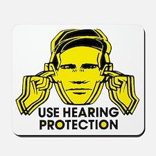 Use Hearing Protection Mousepad