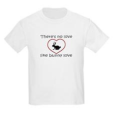 Bunny Love Kids T-Shirt