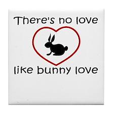 Bunny Love Tile Coaster