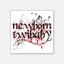"""newborn twibaby by twilight Square Sticker 3"""" x 3"""""""