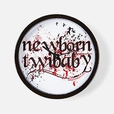 newborn twibaby by twilightnewborn Wall Clock