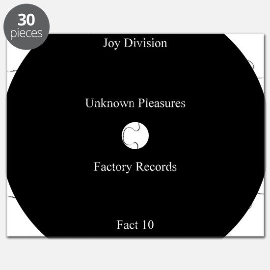 Joy Division Unknown Pleasures Puzzle