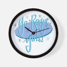 3-go-rogue-girls Wall Clock