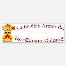 1-66th AR cap1 Sticker (Bumper)