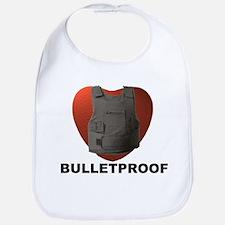 'Bulletproof Heart' Bib