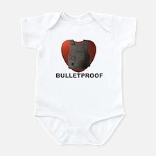 'Bulletproof Heart' Infant Bodysuit