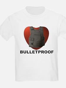 'Bulletproof Heart' Kids T-Shirt