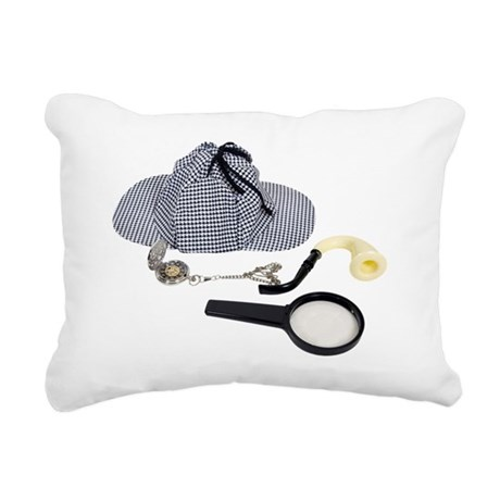 TimeForDetective050110 Rectangular Canvas Pillow