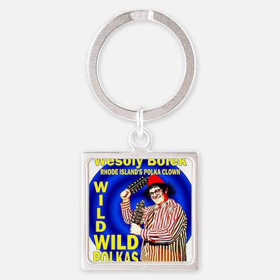 2-wesoly bolek Square Keychain