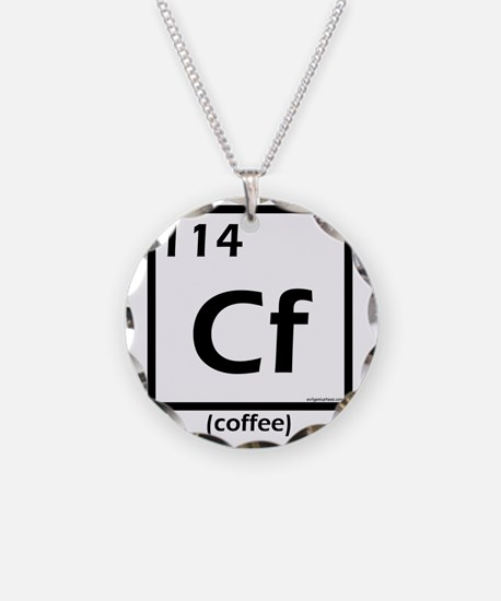 element114coffee Necklace