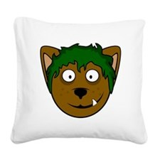 benjiwolfXLwht Square Canvas Pillow
