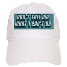donttellmebutton Baseball Cap