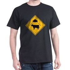UFO Cow Abduction T-Shirt
