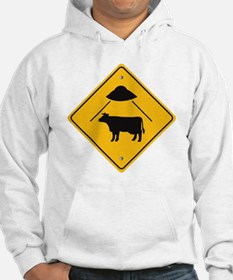 UFO Cow Abduction Hoodie