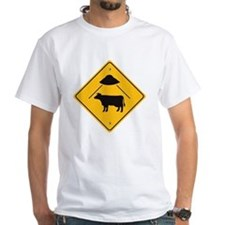 UFO Cow Abduction Shirt