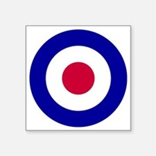 "10x10-RAF_roundel Square Sticker 3"" x 3"""