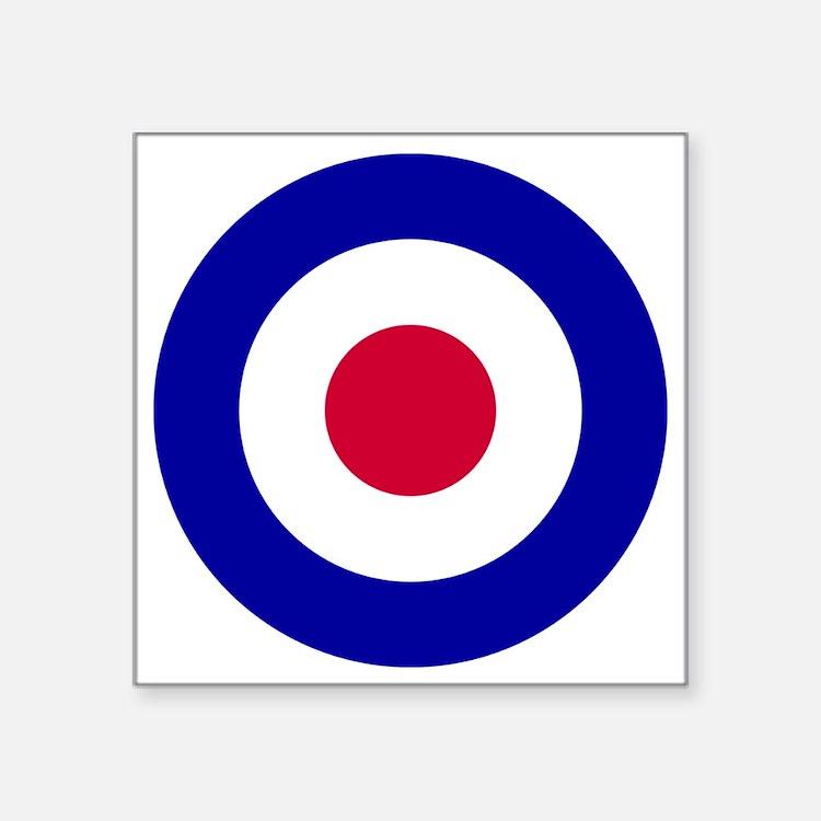 """10x10-RAF_roundel Square Sticker 3"""" x 3"""""""