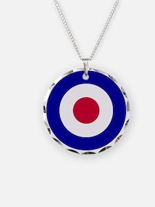 10x10-RAF_roundel Necklace