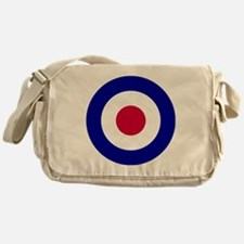 10x10-RAF_roundel Messenger Bag
