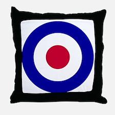 10x10-RAF_roundel Throw Pillow