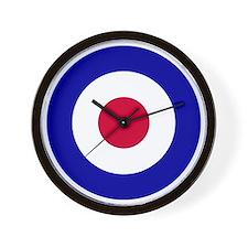 10x10-RAF_roundel Wall Clock
