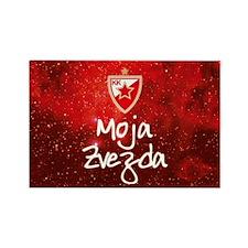 CZ_Moja_Zvezda Rectangle Magnet