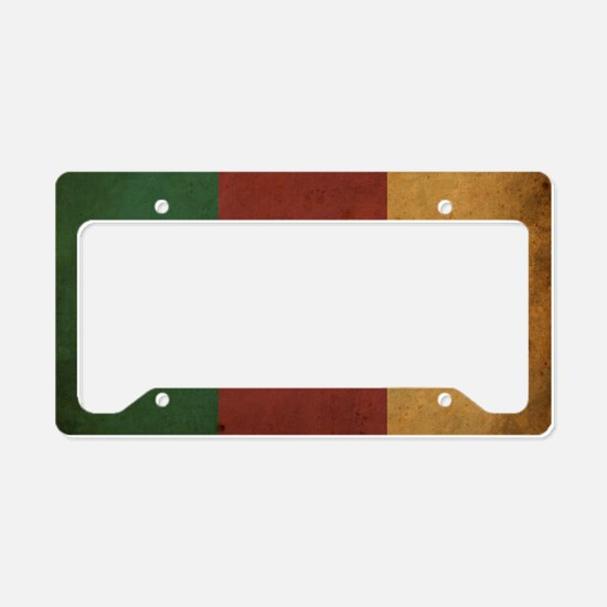 VintageCameroon2 License Plate Holder