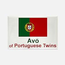 Portuguese Twins-Avo (Grandfather) Rectangle Magne
