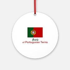 Portuguese Twins-Avo (Grandfather) Ornament (Round