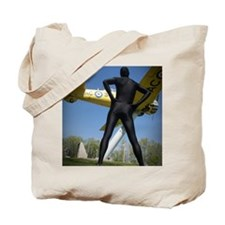 Black Airforce Way Zentai 1 Tote Bag
