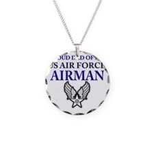 AIR FORCE DAD Necklace