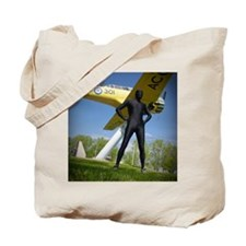 Black Airforce Way Zentai 3 Tote Bag