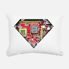 Super_Computer Rectangular Canvas Pillow
