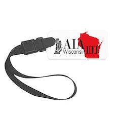 AIA WI 100 Logo WH Luggage Tag