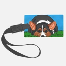 Tri Color corgi Luggage Tag