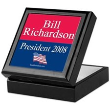 """""""Bill Richardson for President"""" Keepsake Box"""