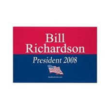 """Bill Richardson 2008"" Rectangle Magnet"