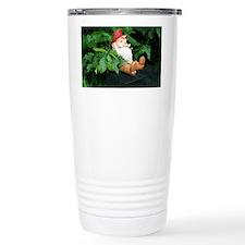 Lauras Gnome Travel Coffee Mug