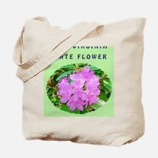 West Virginia State Flower Postcards Tote Bag