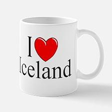 """I Love Iceland"" Mug"