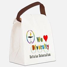 UU We Love Diversity Canvas Lunch Bag