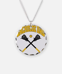 Lacrosse Dad Necklace